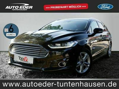 gebraucht Ford Mondeo 2.0 TDCi Titanium StartStopp Navi LED
