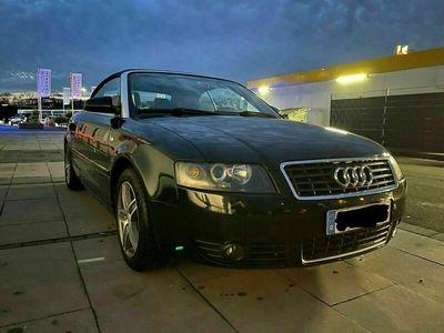 gebraucht Audi A4 Cabriolet 2.4 V6 Automatik Vollled... als Cabrio/Roadster in Leverkusen