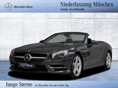 gebraucht Mercedes SL500 AMG B&O COMAND ILS Xenon SHD Memory PTS