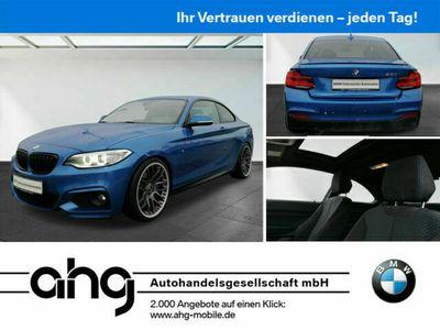 gebraucht BMW 230 i Coupe M Sport Navi Prof. Klimaaut. Glasdach als Sportwagen/Coupé in Horb am Neckar