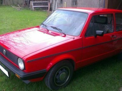gebraucht VW Golf I Automatik / rot / 2-türig / Tüv ...