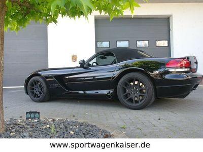 gebraucht Dodge Viper SRT-10*Schwarz/Schwarz*8,3 Liter*Sidepipes