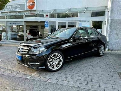 gebraucht Mercedes C200 CDI AMG Line /Navi/Automatik/BI-Xenon/PDC