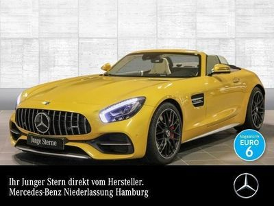 gebraucht Mercedes AMG GT C designo Perf-Sitze Perf-Abgas Burmester