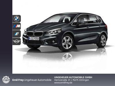 gebraucht BMW 220 Active Tourer i Advantage LED RFK Navi Shz