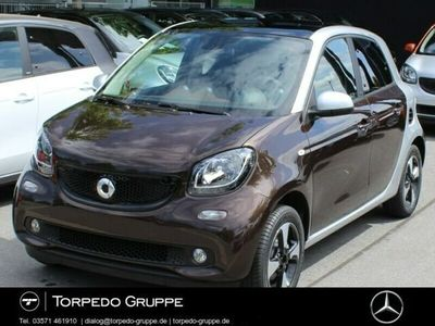 gebraucht Smart ForFour 66 kW Benziner perfect+Cool u. Audio