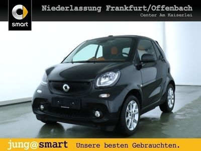 gebraucht Smart ForTwo Cabrio 66kW passion DCT cool&Audio SHZ LED
