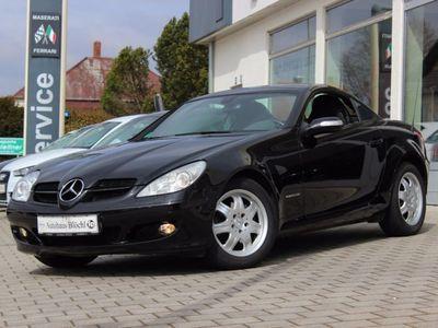 gebraucht Mercedes SLK200 Kompressor Automatik SHZ, Klimaaut.