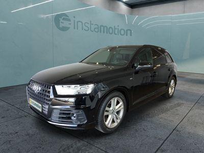 gebraucht Audi SQ7 SQ74.0 TDI q. Tiptr. AHK ACC Sportsitze plus Panorama