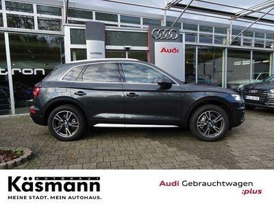 gebraucht Audi Q5 design 40 TDI quattro LED Navi AHK Sitzhz GRA