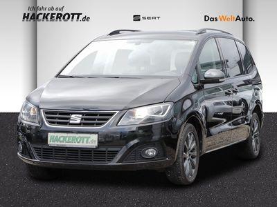 gebraucht Seat Alhambra Connect 2.0 TDI Navi Dyn. Kurvenlicht Rückfahrkam. AHK-klappbar PDCv+h LED-hinten