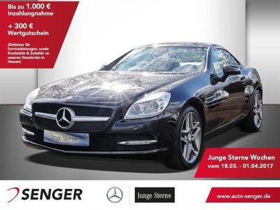 gebraucht Mercedes SLK200 BlueEFFICIENCY Roadster Airscarf Navi Bi