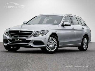 gebraucht Mercedes C180 T CGI Exclusive Navi el. Sitze Leder -
