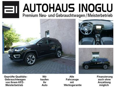 gebraucht Jeep Compass 1.4 MultiAir Active Drive Limited 4WD AT Tleder Navi