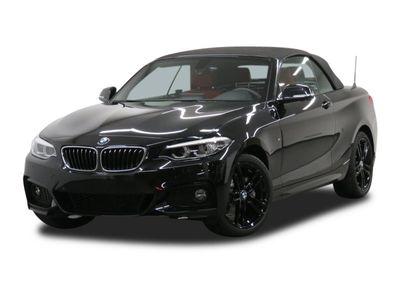 gebraucht BMW 220 i Cabrio Steptronic M Sport LED 18 Navi PDC