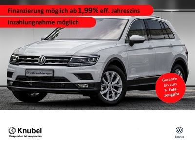 gebraucht VW Tiguan Highline 2.0 TDI 7-Gang DSG