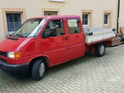 gebraucht VW T4 Pritsche, Doka, Doppelkabine 2.5 TDI