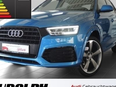 gebraucht Audi Q3 sport 2.0 TDI S line Keyless Navi PDCv+h SHZ Xenon