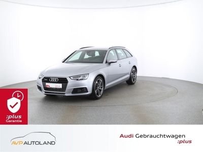 gebraucht Audi A4 Avant 2.0 TFSI quattro S tronic B&O LED Navi schwarz