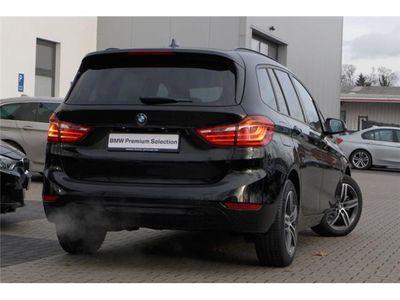 gebraucht BMW 218 Gran Tourer d Sport Line Glasd. LED RFK Navi