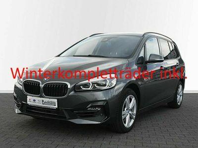 gebraucht BMW 218 Gran Tourer i Sport Line EU6d 7-Sitzer LED Navi Rückfahrkam. Fernlichtass. El. Heckklappe