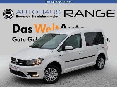 gebraucht VW Caddy Trendline 5-Sitzer Motor: 1,4 l TSI EU6 BlueMotion Technology 96 kW Getriebe: 6-Gang-Schaltgetriebe Radstand: 268