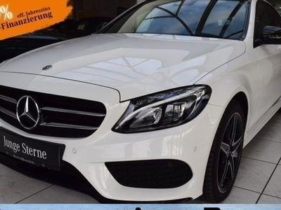 gebraucht Mercedes C400 T 4M 2x AMG Night LED PanoSD Navi RFKamera