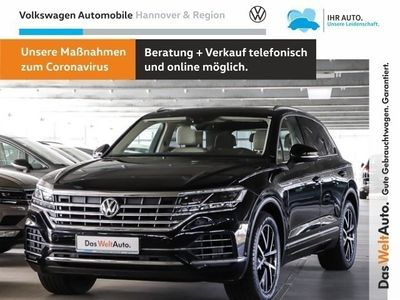 gebraucht VW Touareg 3.0 V6 TDI Navi Leder AHK Standheizung Schiebedach