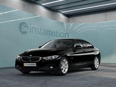 gebraucht BMW 420 Gran Coupé 420 Gran Coupé i Advantage EURO 6 Aut Navi LED Temp PDC Klima