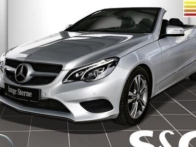 gebraucht Mercedes E200 Cabrio Leder LED-ILS Airscarf Navi Parktr.