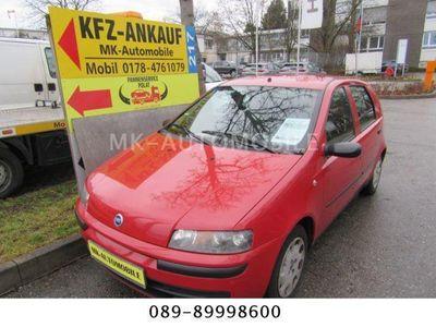 gebraucht Fiat Punto Lim.1.2 8V SX *4-TÜRIG *EL-FH*ABS *SERVO