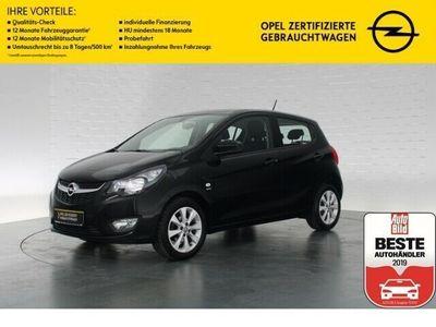 gebraucht Opel Karl EXCITE+BLUETOOTH+SITZ-/LENKRADHEIZUNG+ISOFIX+TEMPOMAT+MULTIFUNKTIONSLENKRAD