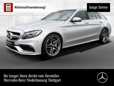 gebraucht Mercedes C63 AMG T AMG designo Pano ILS COMAND Burmester PTS