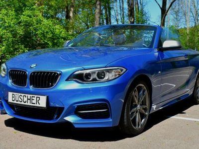 käytetty BMW M240 Cabrio Navi 8G. M Paket WIE NEU + Garantie