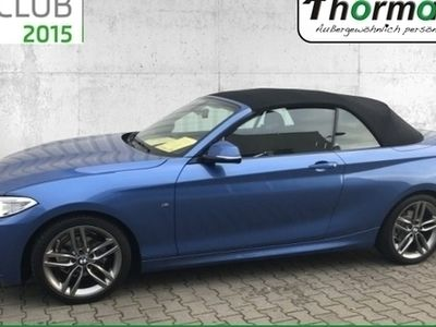 gebraucht BMW 218 i Cabrio M Sport Design Sportpaket Navi Alca