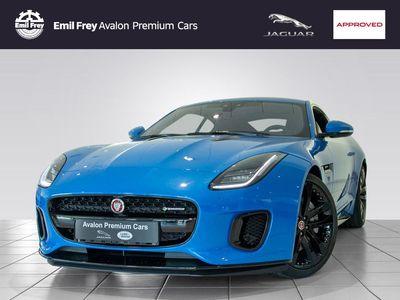 gebraucht Jaguar F-Type Coupe Aut. R-Dynamic 20´´ Black*Black-Pack
