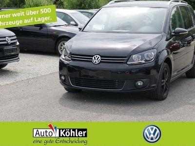 käytetty VW Touran Life 1.6 TDi Nur für Gewerbe und Export Navi Einparkass Kurvenl. Sitzh. Anthrazit