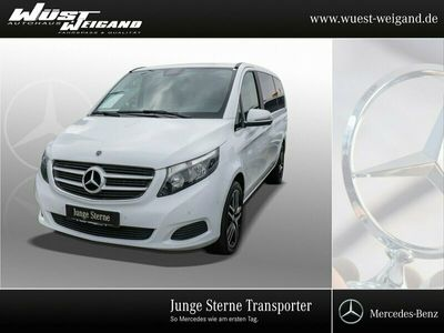 gebraucht Mercedes V220 d RISE L Navi+PTS+SHZ+19Zoll+Bluetooth+USB