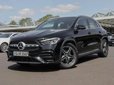 gebraucht Mercedes GLA200 d AMG Navi MBUX LED Kamera Spiegel-Paket