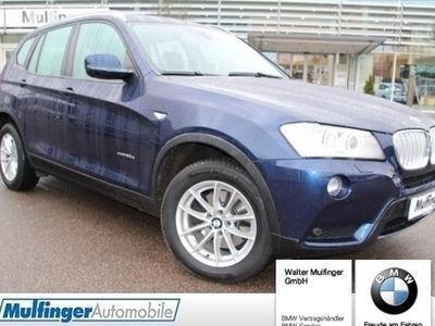 gebraucht BMW X3 xDrive30d Aut. Navi AHK Xenon Dachreling Kamera