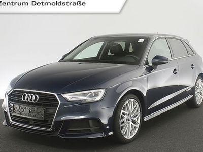 "gebraucht Audi A3 Sportback 2.0 TDI S line Leder LED Navi 18"" GRA PDCplus S tronic"