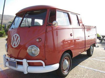 gebraucht VW T1 Doppelkabine Doka Crew Cab kein Samba 1960
