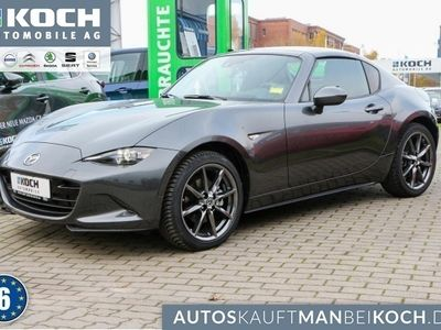 gebraucht Mazda MX5 RF SKY-G 160PS AT Sports Nav LED PDC SHZ BOSE