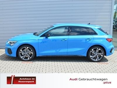 gebraucht Audi A3 Sportback S line 35 TDI +DAB+ACC+LED+NAVI+