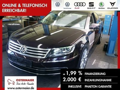 gebraucht VW Phaeton 3.0TDI 245PS NP:100tEUR S-DACH.19ALU.NAV