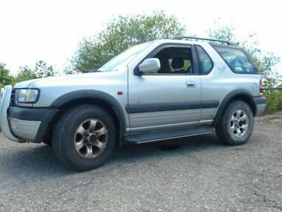 gebraucht Opel Frontera B Sport 2,2 Ltr. 136 PS 4x4 Offroad Bj. 1999 o. TÜV