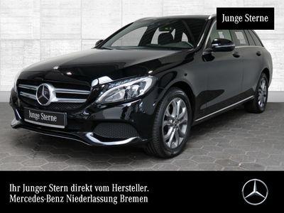 gebraucht Mercedes C220 d T 4M Avantgarde Distr+ LED Kamera Navi PTS
