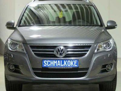 gebraucht VW Tiguan TDI2.0 DPF 4Mot DSG Team eSAD AHK Navi
