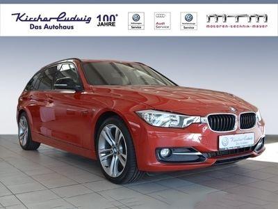 gebraucht BMW 318 d Touring Automatik Pano