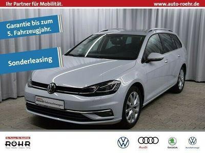 gebraucht VW Golf Variant VII Highline (Garantie 07/2023,LED,Navi,SHZ,Front